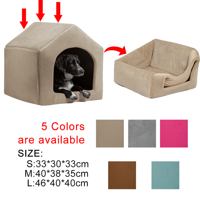 Luxury Dog House High Quality Cozy Dog Bed 5 Colors