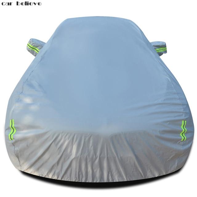 Car Believe Oxford Waterproof Thicken Car Cover For skoda superb ford kuga citroen c4 golf 4 Sunshade Snow rainproof Car Cover