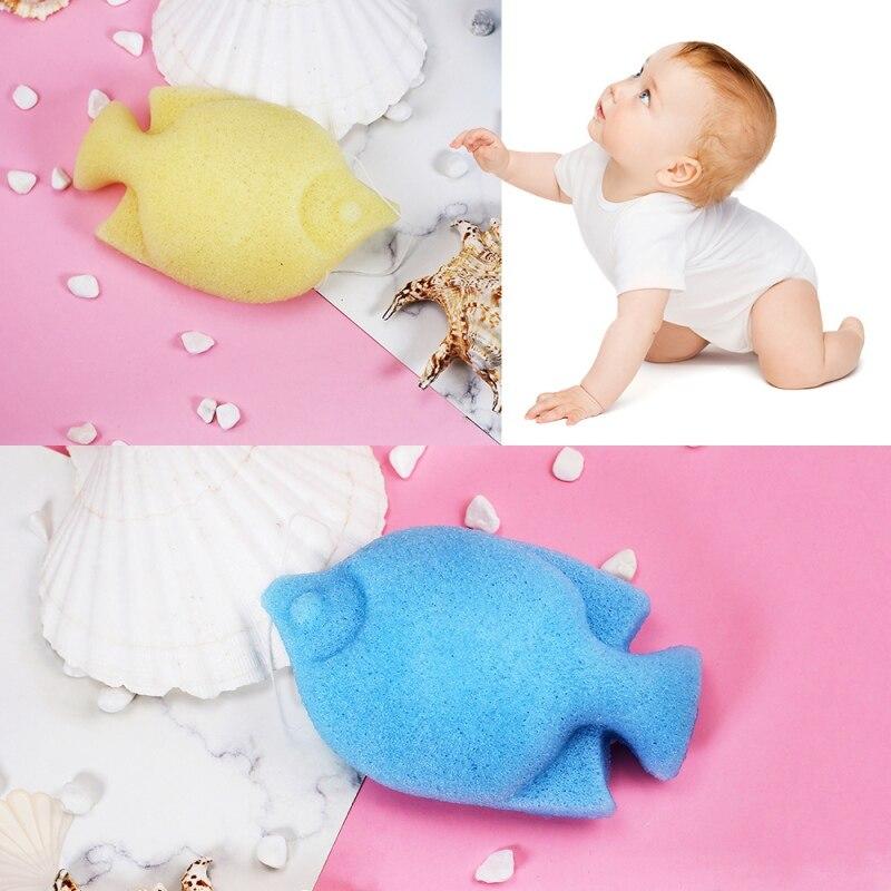 #5806 Gesichts Baby Haut Reinigung Puff Natürliche Konjac Gum Bade Schwamm Gesicht Bad Produkt Einfach Zu Bedienen Tiefe Reinigung Puffs Durch Wissenschaftlichen Prozess