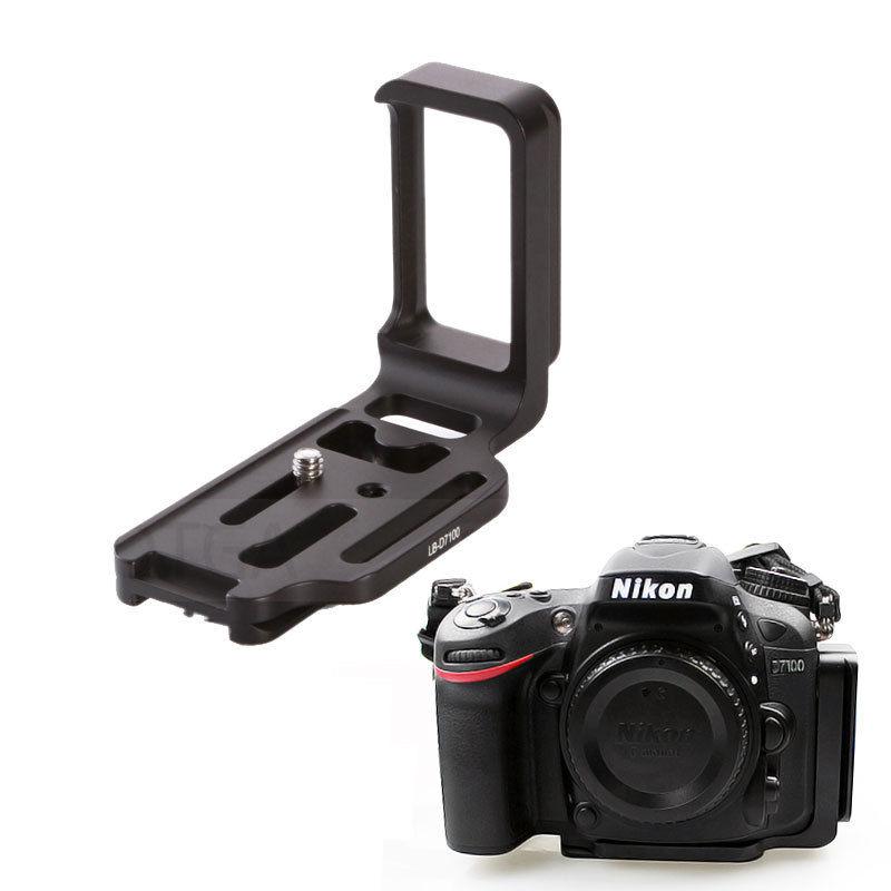 Camera Quick Release Plate QR L-Plate Bracket Grip For Nikon D7100 ARCA-SWISS RRS Kirk Wemberley Standard