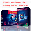 healthy fabric colour absober &  laundry detergent sheet washing balls wash ball  non-phosphate absorb pigments lock color