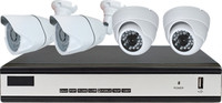 4CH CCTV System 1080N HDMI DVR 4PCS 1080P IR Night Vison Bullet Camera
