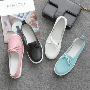 Image 5 - AARDIMI Women Loafers Genuine Leather Ladies Flat Shoes Ballet Flats Woman Causal Shoes Nurse Shoes Woman Platform Women Flats
