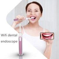 WIFI Endoscope Camera HD 1080P Wireless Dental Camera Mini Waterproof IP67 Inspection Borescope For tooth health endoscopio