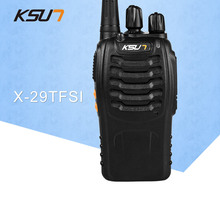 1 PCS BUXUN X-29TFSI Walkie Talkie 5W Handheld Pofung UHF 5W 400-470MHz 16CH Two way Portable CB Radio wecan kc m3 ultra thin ultra clear 400 470mhz 20 channel walkie talkie silver blue 2 pcs