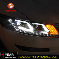 Car Styling Head Lamp case for Honda Crosstour Headlights Crosstour 2010 2013 LED Headlight DRL Lens Double Beam Bi Xenon HID