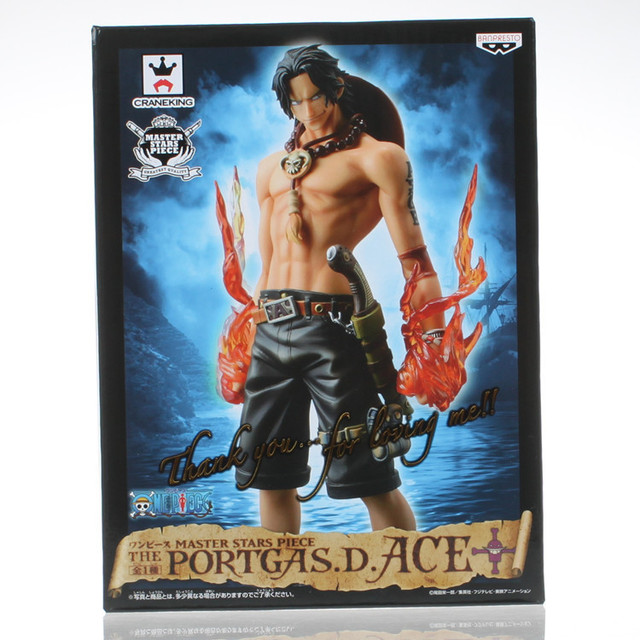 Anime One Piece Master Stars Piece MSP Portgas D Ace Boxed PVC Action Figure Collection Model