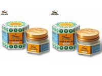 2pcs White Tiger Balm Ointment Painkiller Muscle Pain Relief Ointment Soothe Itch For Headache And Suffy