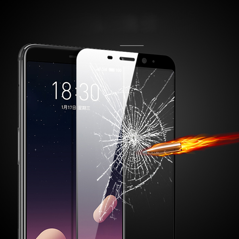 """Image 3 - 1PCS Tempered Glass For Meizu M6s Screen Protector Meilan S6 Full Cover for Meizu M6s mblu S6 3D Curved Edge Film 5.7"""" HATOLY-in Phone Screen Protectors from Cellphones & Telecommunications"""