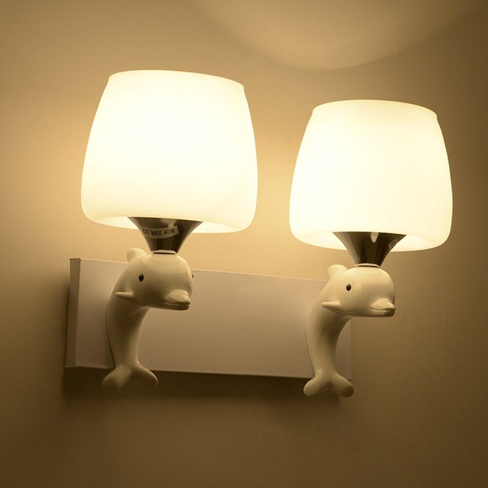 Mur Lampe Led Loft Maison Éclairage Nordic Light 110-220 v Chambre Éclairage Mural Contemporain Mur Monté De Chevet Lecture lampes
