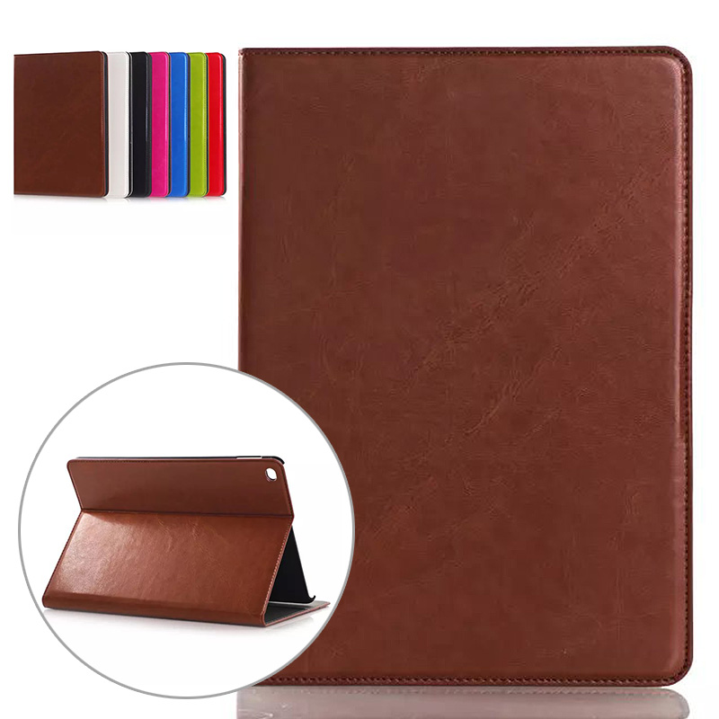 Oil Pattern Slot Card Case for Ipad Air 2 for Ipad 6 Pu Leather Business Cover for Ipad Air 2 Flip Stand Tablet Case Cover Bag