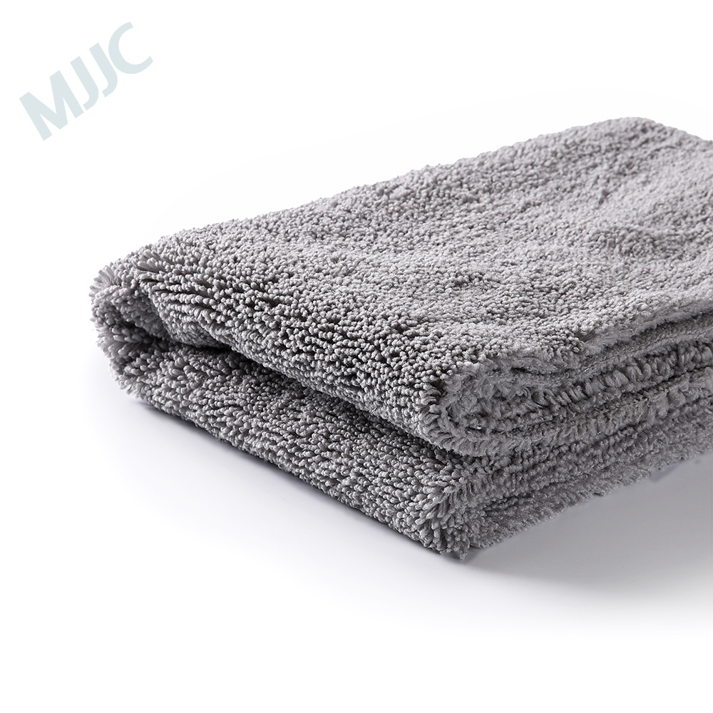 MJJC Brand High Quality Edgeless Plush Microfiber Towel 40x60cm 390gsm