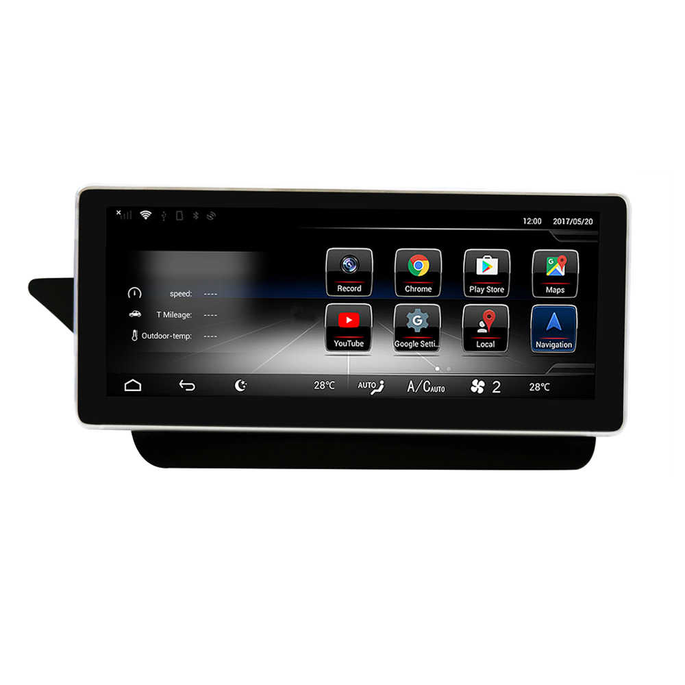 8 Core 2+32G Car Android 10 25 inch Display for Mercedes