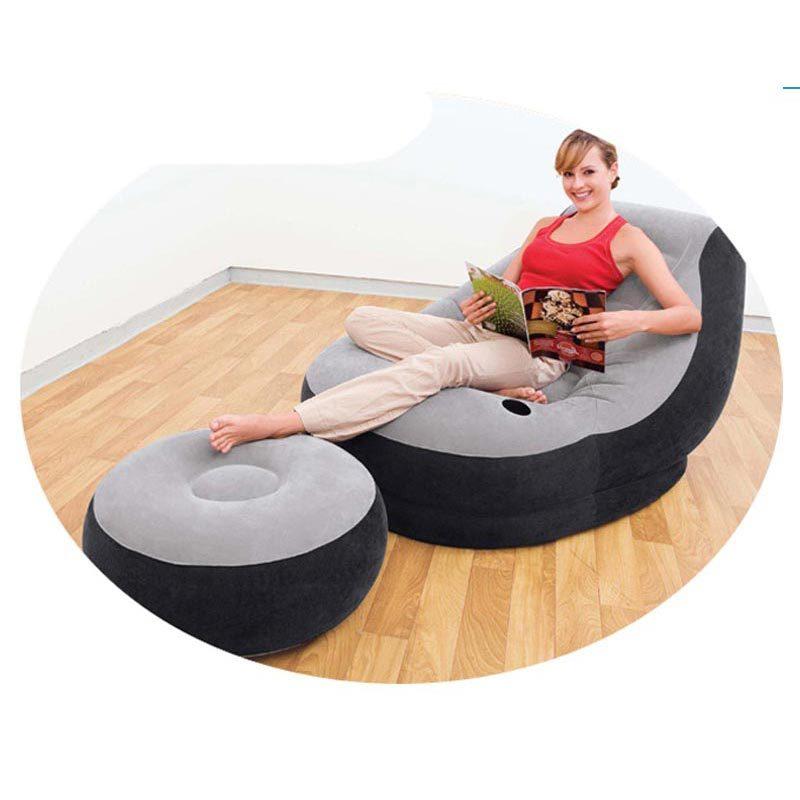 Inflatable Sofa Buy Online: Aliexpress.com : Buy INTEX Inflatable Lounge Chair Sofa Inflatable Sofa 130*99c*76cm, 64*28cm
