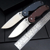 RAT Model1 Portable Folding Knife AUS 8 Blade Carbon Fiber Handle Camping Hunting Survival Knife Outdoor