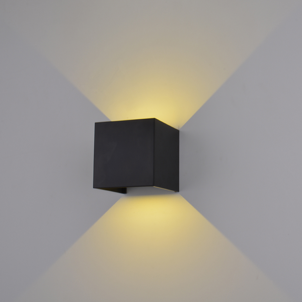 цена на IP65 Cube Adjustable Surface Mounted Outdoor Led lighting,led Outdoor Wall Light Up Down Led Wall Lamp