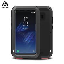 hot deal buy love mei for galaxy s8 plus metal armor shockproof case for samsung galaxy s8 s8 plus aluminum cover for samsung s8/s8plus coque
