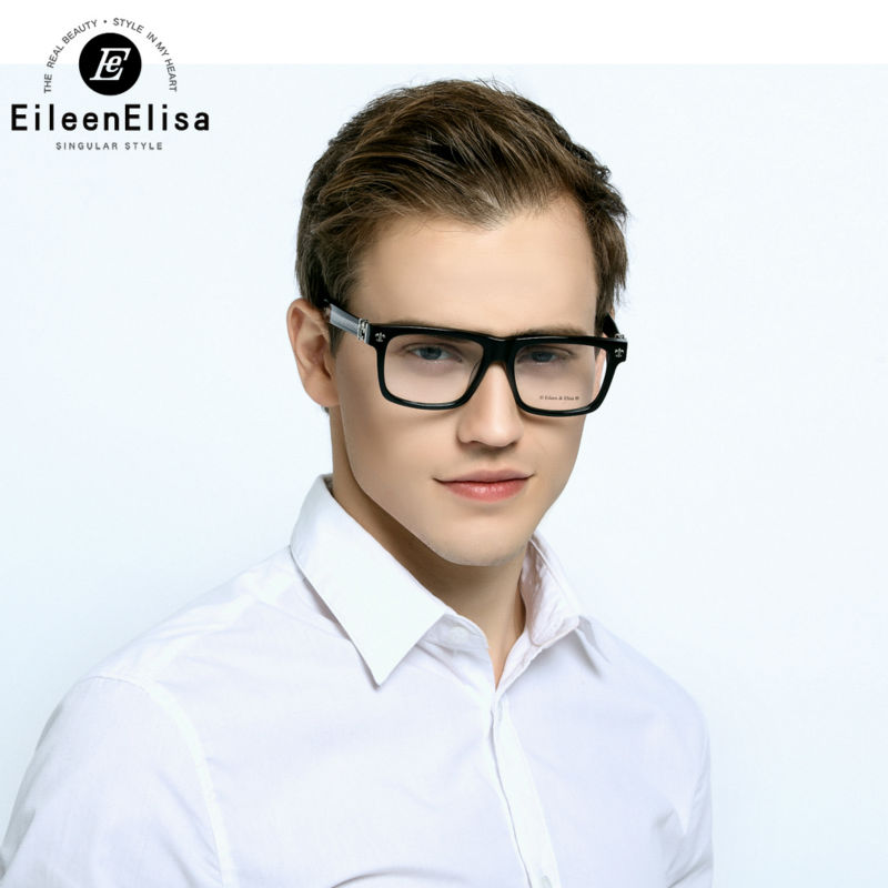 Brand Optical Glasses Frame EE Mens Square Glasses 2016 Eyeglasses Frames Brand Top Quality Glasses Frame with Box