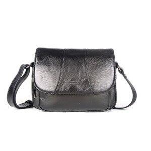 Image 2 - Echt Leer Beroemde Designer Vrouwen Crossbody Tassen Kleine Messenger Bags Reizen Schoudertassen Voor Dames Handtassen Tote Purse