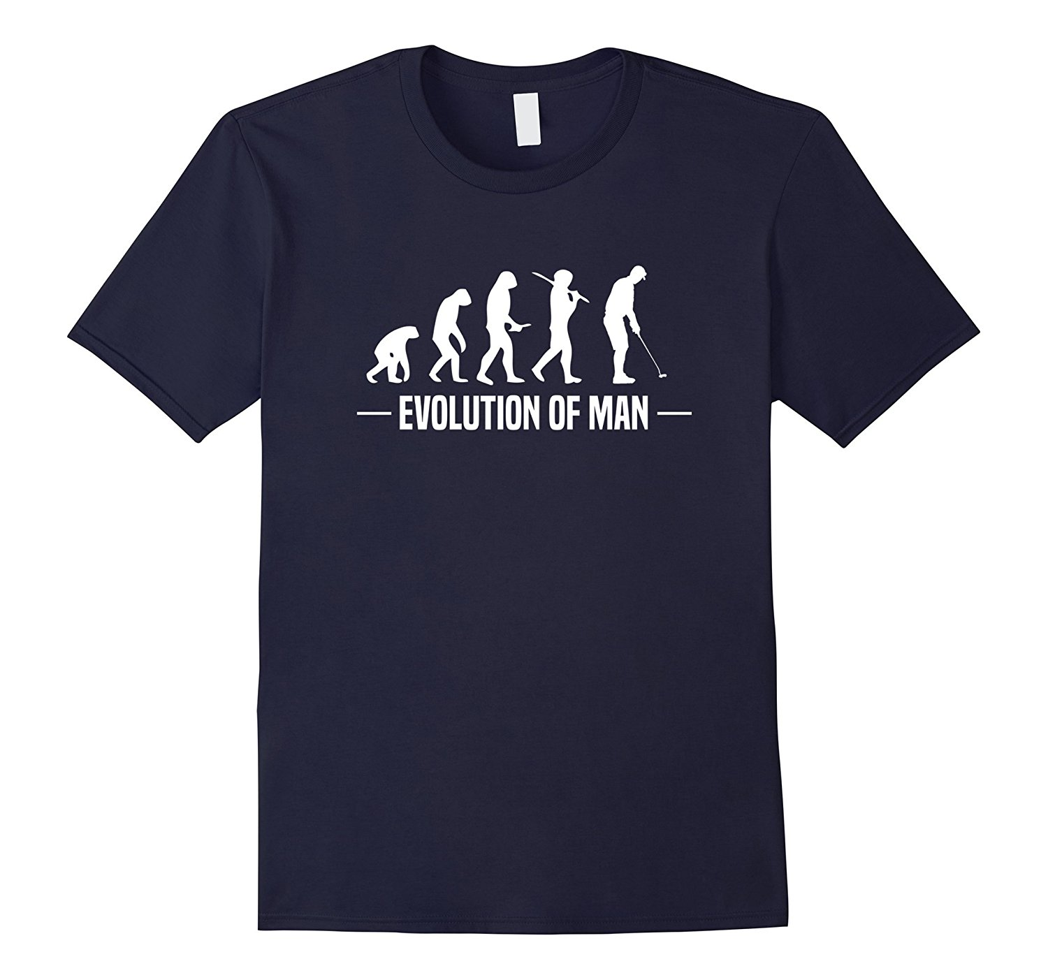 Evolution of Man T-Shirt Funny Golfing Tee 100% Cotton Letter Printed T Shirts Top Tee Harajuku Funny Rick Tee Shirts
