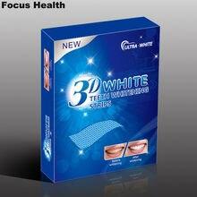 3d Teeth Whitening Strips Whitestrips Tooth Whitener Blanqueador Clareador Clareamento Dental 14 Pouches 28 Strips Oral Hygiene