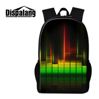 Dispalang New Children School Bags For Elementary Students Music Design Kids Backpack Womens Travel Shoulder Bag