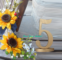 set wedding table reception find your seat table numbers unpainted table numbers painted table numbers DIY numbers