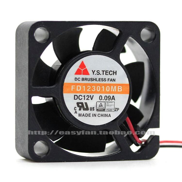НОВЫЙ Y. S. TECH 12 В 0.09A 3 см silence 3010 3 см FD123010MB Вентилятор охлаждения