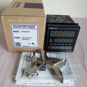 Image 3 - CT6M 2P4 (CT6 2P) 100 240VAC (50 60Hz) Nieuwe Originele Echte Multifunctionele Timer Teller