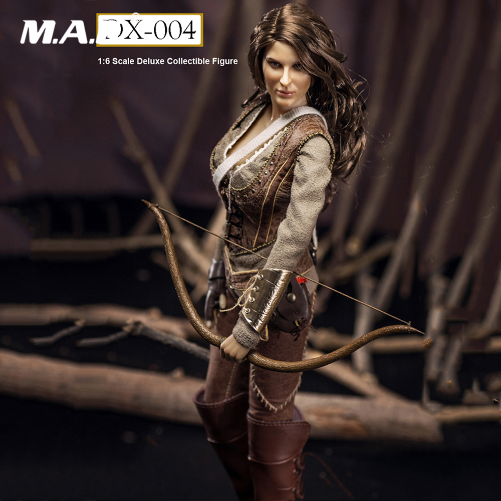 где купить Collectible FGCDX-004 1/6 Scale Full Set Figure Doll Female The Hunger Games Katniss Everdeen Cousin 12
