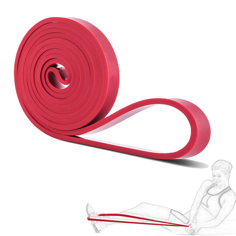 font b Fitness b font Equipment Latex Expander Loop Resistance Power Bands Rubber Yoga Asist
