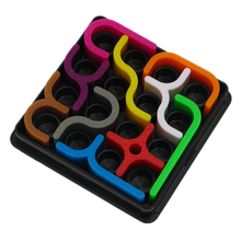 Creative 24 Levels Logical Reasoning Puzzle Creative Crazy Curves Brain Teaser Logic Puzzle Game Funny Educational Funny  Toys