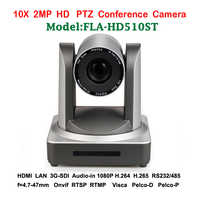 2MP 10x Zoom optyczny PTZ IP PTZ kamera konferencyjna 3G-SDI HDMI do transmisji wideo system audio profesjonalistów