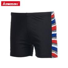 Kawasaki Brand 2017 NEW Male Swimsuit Beach Wear Black Swim Trunks Boxer Swimming Shorts for Men High Quality SW-U1004