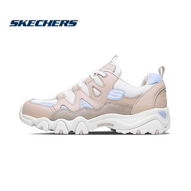 <font><b>Skechers</b></font> <font><b>Women</b></font> Shoes D'lites Comfortable Breathable Fashion Shoes Woman Platform high heel Walking Shoes <font><b>Women</b></font> 88888328-WPK image
