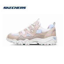 Skechers Women Shoes Dlites Comfortable Breathable Fashion Woman Platform high heel Walking 88888328-WPK