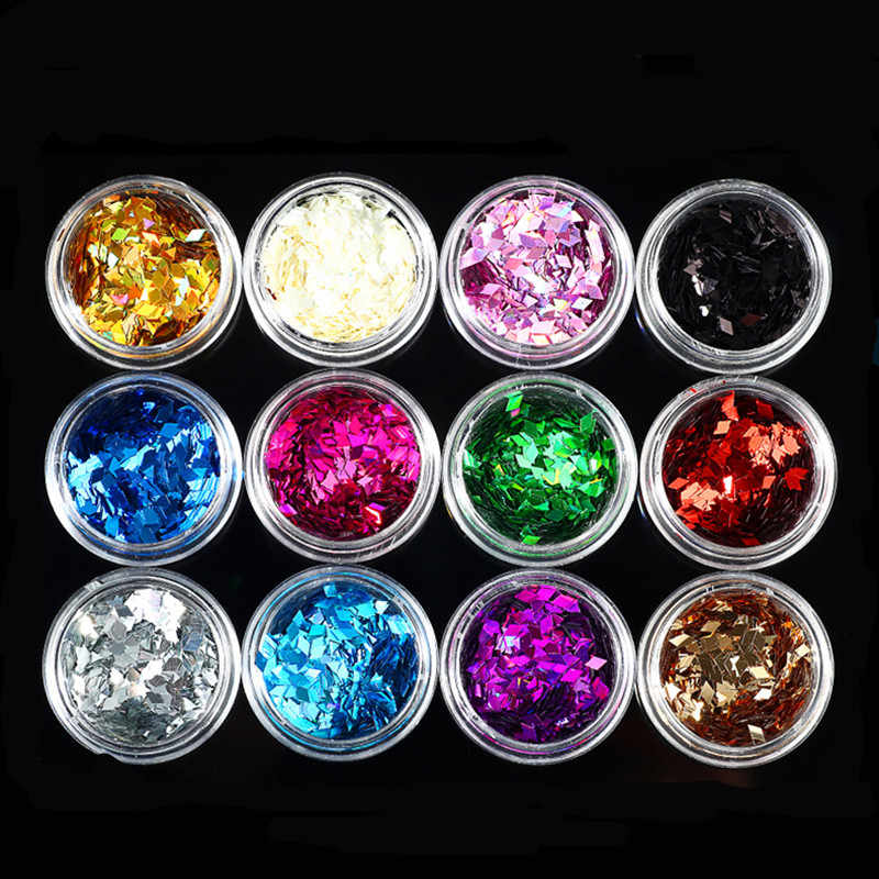 1pcs Colour Modeling Clay Sequin Glitter Filler Fluffy Slime Box Toys Children Charms Lizun Kit Accessories Funny Gift