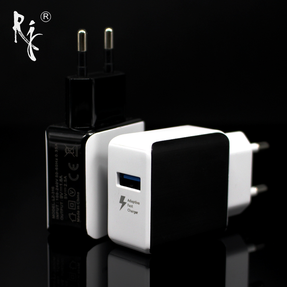 Top Quality 5V 2.5A EU Plug USB Fast Charger Mobile Phone Wall Travel Power Adapter For iPhone 6 6s 7 Plus Samsung S7edge Xiaomi
