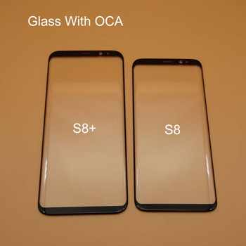 10pc/lot Replacement LCD Front Touch Screen Glass Lens With OCA Adhesive For Samsung Galaxy S8 S8 Plus S8+ Outer Glass+oca film - DISCOUNT ITEM  15% OFF Cellphones & Telecommunications