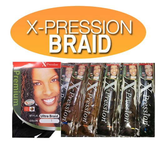 30 Lot Free Shipping Braiding Hair Outre X Pression 100 Kanekalon