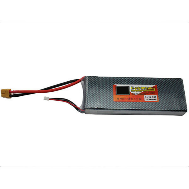 11.1v 10000mAh Lipo Battery XT60 Plug 3S 25C for RC Helicopter Quadcopter Airplane Aeromodelo Avion Car Boat Lipoly Bateria Lipo 744010 601 744010 501 for hp 640 g1 650 g1 laptop motherboard 744010 001 6050a2566402 mb a04 qm87 hd8750m mainboard 100% tested