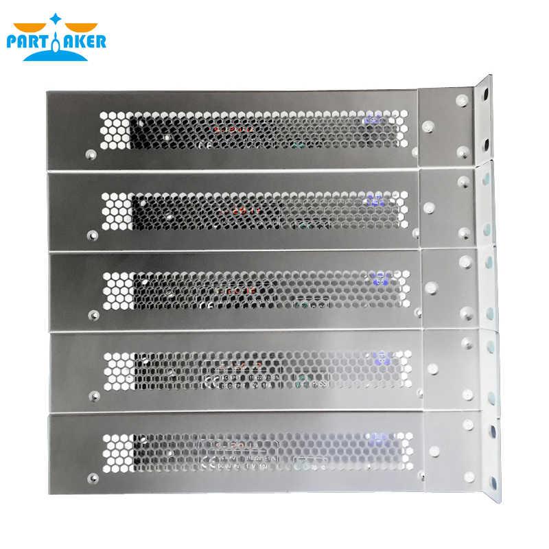 بارتاكر R11 انتل I3 2370 متر Mikrotik الموجهات 1U الخادم مع نظام باربون 6 LAN 2G RAM 8G SSD