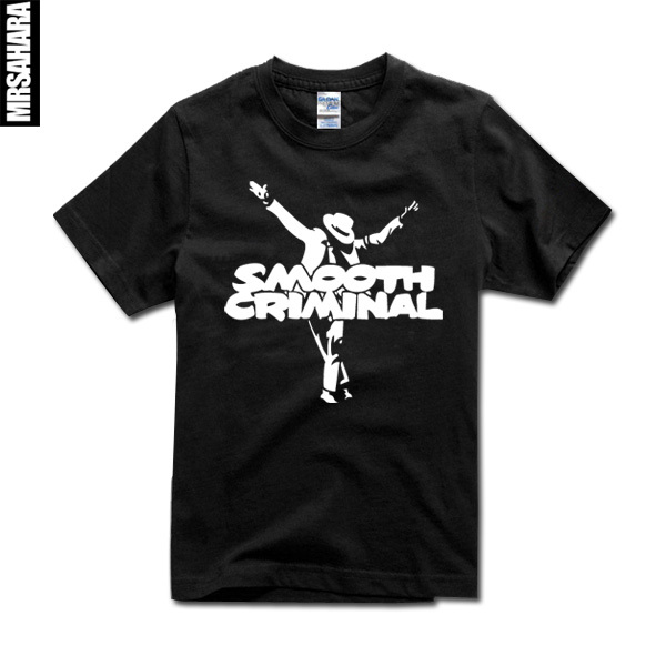 c7c683ea9e45 Michael Jackson Smooth Criminal High Quality Mens T Shirt MJ shirts 100%  cotton fast shipping-in T-Shirts from Men's Clothing on Aliexpress.com |  Alibaba ...