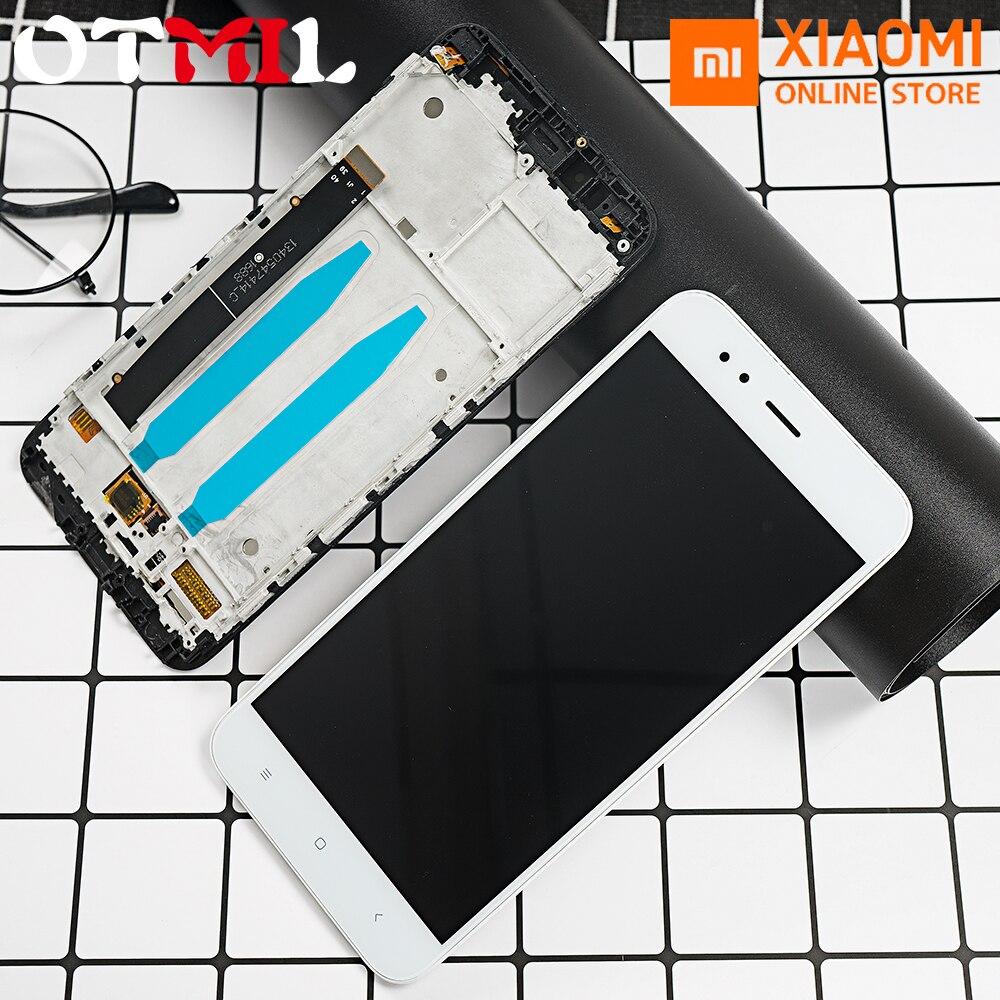 """OT mi L Original 5.5 """"LCD pour XIAO mi A1 LCD affichage écran tactile numériseur cadre d'assemblage pour Xiao mi A1 mi 5X mi 5X affichage"""