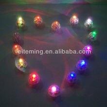 12 шт./партия, 10 мм, теплый белый светодиодный баллон, бумажный фонарь, мини-светильник для вечеринки, свадебные украшения из перьев