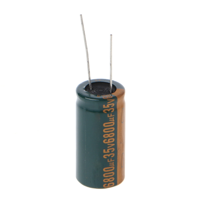 35V 6800uF Capacitance Electrolytic Radial Capacitor High Frequency Low ESR