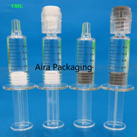 1ML50/100/200pcs Empty Cosmetic Syringe with Scale Disposable Eye Cream/Essence Tube Hyaluronic Acid/Collagen Cosmetic Container