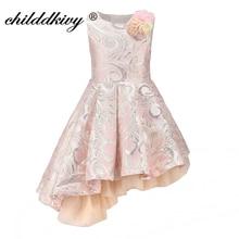 ChildDkivy Baby Girl Princess Dress 3-12Years Kids Sleeveless Autumn Winter Dresses for Toddler Girl Robe Fille Children Clothes