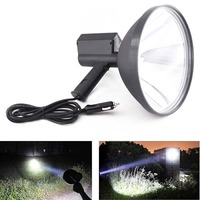 9 inch Portable Handheld HID Xenon Lamp 1000W 245mm Outdoor Camping Hunting Fishing Spot Light Spotlight Brightness