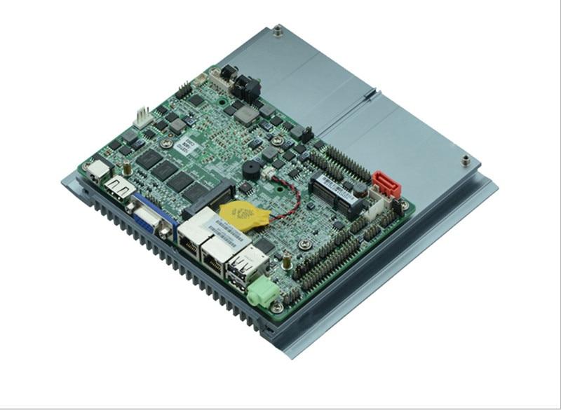 1037U DC 12 V double 24 bits LVDS POS cartes mères industrielles ATM cartes mères Mini ITX cartes mères industrielles